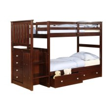 Dual Underbed Drawers- Cappuccino Finish (sold separately)