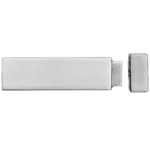 Quad magnetic door stop wall mounted, Polished Chrome Product Image
