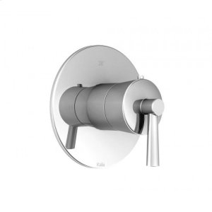 "1/2"" Thermostatic Shower Valve With Shower Trim Kit - Chrome Product Image"