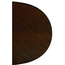 Oval Table, W/18 In. Leaf