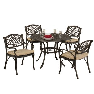 Esterton 5-piece Round Dining Set