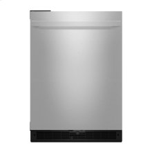 "NOIR 24"" Under Counter Solid Door Refrigerator, Left Swing"