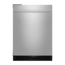"""NOIR 24"""" Under Counter Solid Door Refrigerator, Left Swing"""