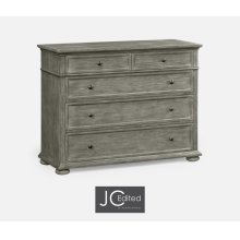 Large Chest of Drawers in Antique Dark Grey