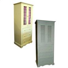 Three Drawer Linen Cabinet 705