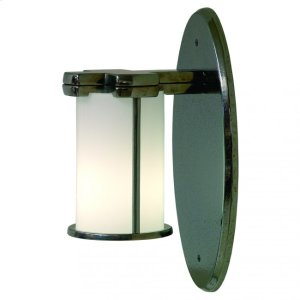 Truss-Ring Sconce - Round Globe - WS415 Silicon Bronze Brushed Product Image