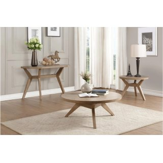 Liatris Round End Table