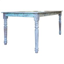 Dining Table, Available in Recycled Finish only.