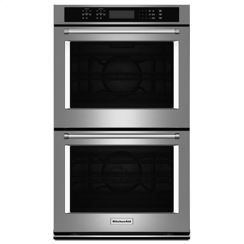 "27"" Double Wall Oven with Even-Heat™ True Convection - Stainless Steel"