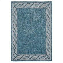 Augusta Collection Aqua Rugs
