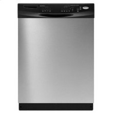 Black-on-Black Built-In Super Capacity Tall Tub Dishwasher