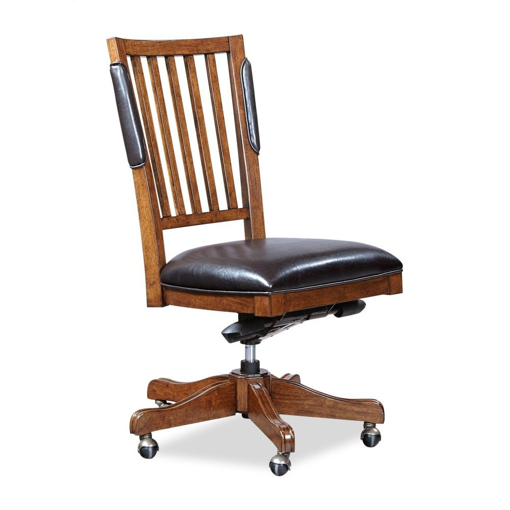 Chair- w/o Arm, PU Seat