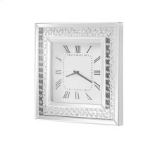 Modern 20 in. Contemporary square wall clock
