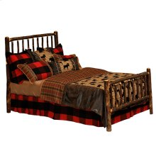 Traditional Headboard - Double - Natural Hickory