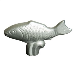 Staub Accessories 8-cm-x-2-cm Stainless steel Fish Knob Product Image