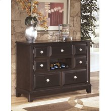 Dining Room Buffet Ridgley - Dark Brown Collection Ashley at Aztec Distribution Center Houston Texas