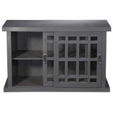 Adesso Small Storage Cabinet - Grey Wash