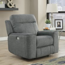 Parthenon Titanium Power Recliner