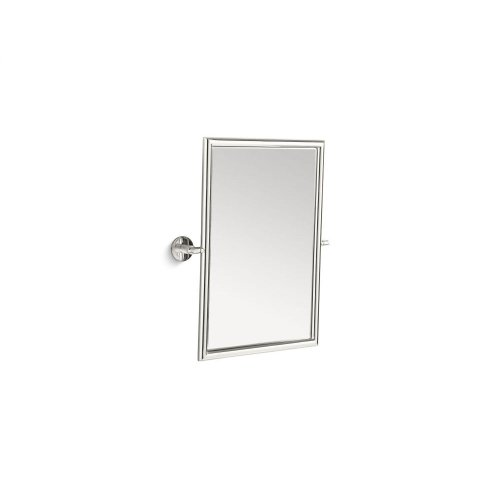 Tilting Mirror - Nickel Silver