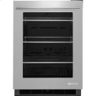 "24"" Under Counter Refrigerator, Euro-Style Stainless Handle Product Image"