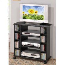 Corner TV/CD Cart