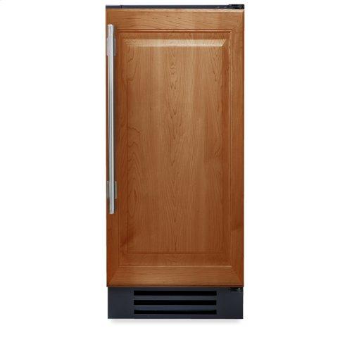 15 Inch Overlay Solid Door Undercounter Refrigerator - Left Hinge Overlay Solid
