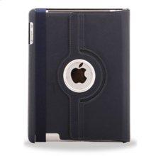 Polaroid Hard Shell iPad 2 and iPad 3 Rotating Folio Case, Navy - PAC100NV
