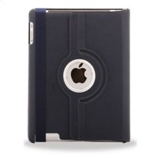 Polaroid Hard Shell iPad 2 and iPad 3 Rotating Folio Case, Navy - PAC100NV