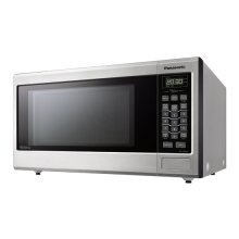 Mid-Size Genius® Inverter® Stainless Steel Microwave
