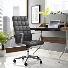 Tile Highback Office Chair in Gray