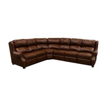 England Lucia All Leather Sectional 3A00AL Sect