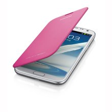 Galaxy Note II Flip Cover, PINK
