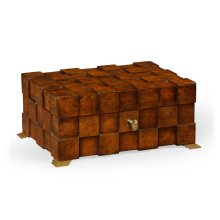 Tesselated Squares Rectangular Box