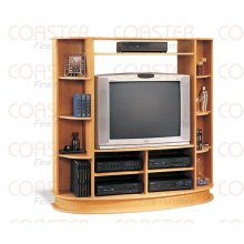 "ENTERTAIN CTR MAPLE/F , FIT 36""TV"
