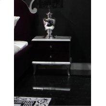 Modrest Blossom Modern Purple Nightstand