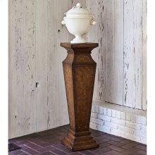 Leather Pedestal
