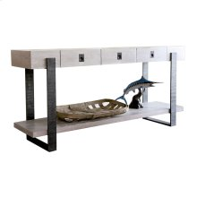 Boathouse Metal Console Table
