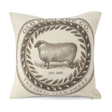 Romney Marsh Sheep Pillow