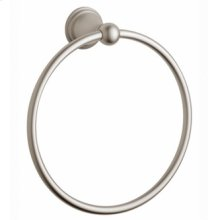 Towel Ring - Infinity Satin Nickel