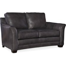 Bradington Young Carroll Stationary Loveseat 8-Way Hand Tie 643-75