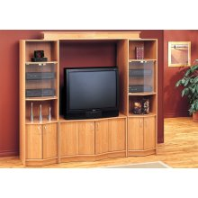 """TV STAND - MAPLE HOME THEATER TV STAND / 36""""TV"""