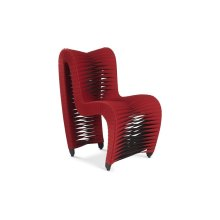 Seat Belt Dining Chair Red
