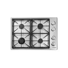 "Heritage 30"" Professional Gas Cooktop, Liquid Propane"