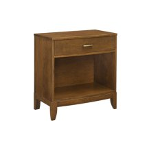Logan View Single Drawer Nightstand