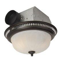 70 CFM Decorative Fan with Light