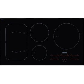 KM 6375 Induction Cooktop with PowerFlex cooking area for maximum versatility and performance.
