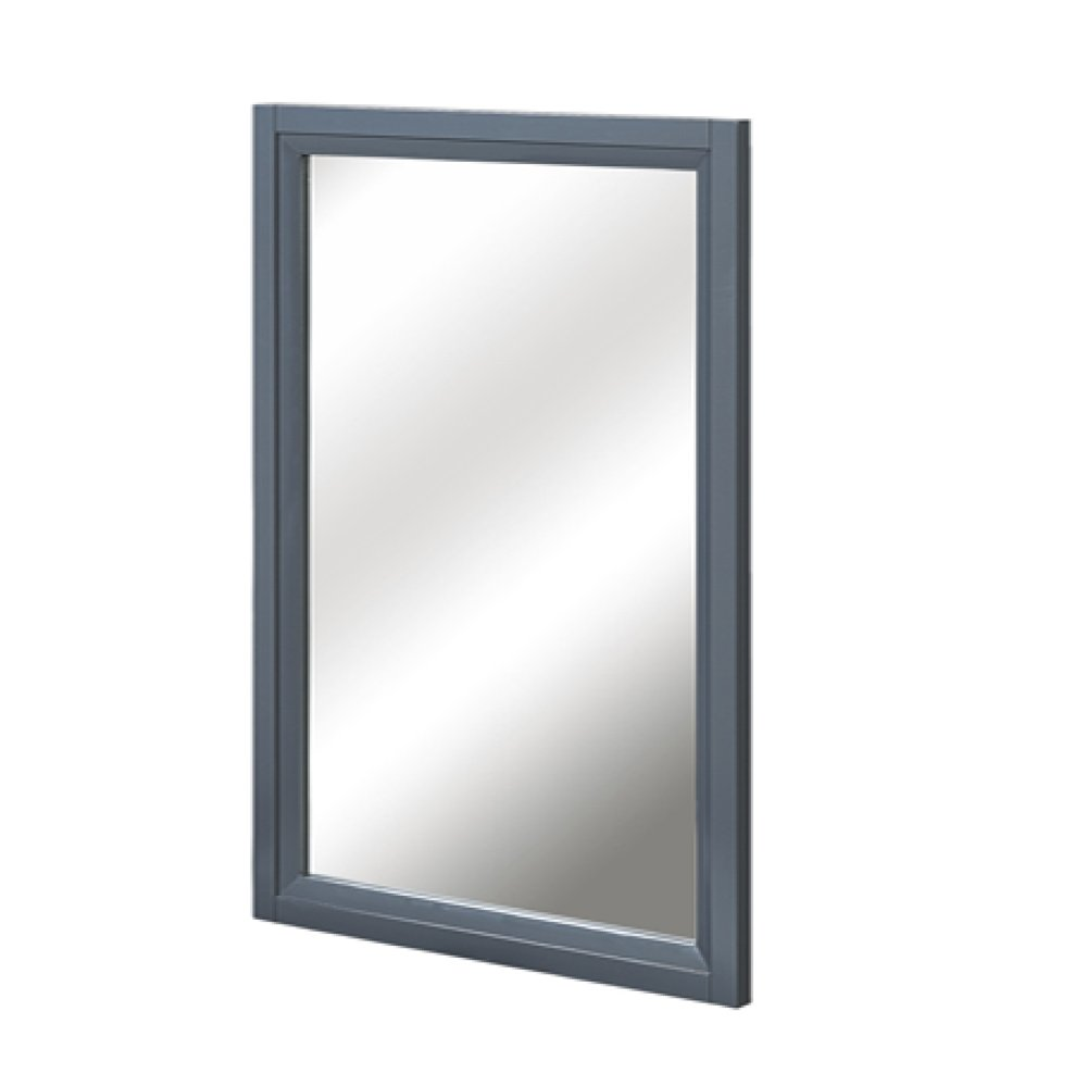 "Studio One 19"" Mirror - Glossy Pewter"