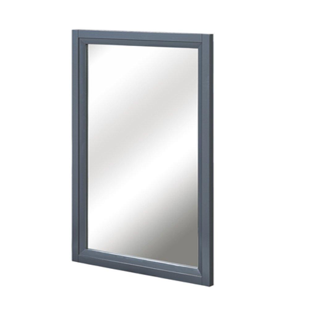 "Studio One 19"" Mirror - Glossy Pewter"