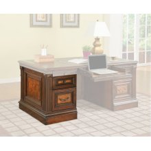 CORSICA Executive Left Desk Pedestal