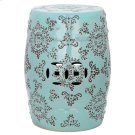 Medallion Garden Stool - Robins Egg Blue Product Image